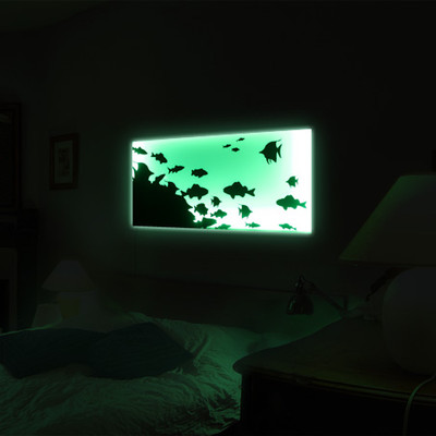 Умный свет: панно (4 вида)